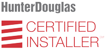Hunter Douglan Certified Installer