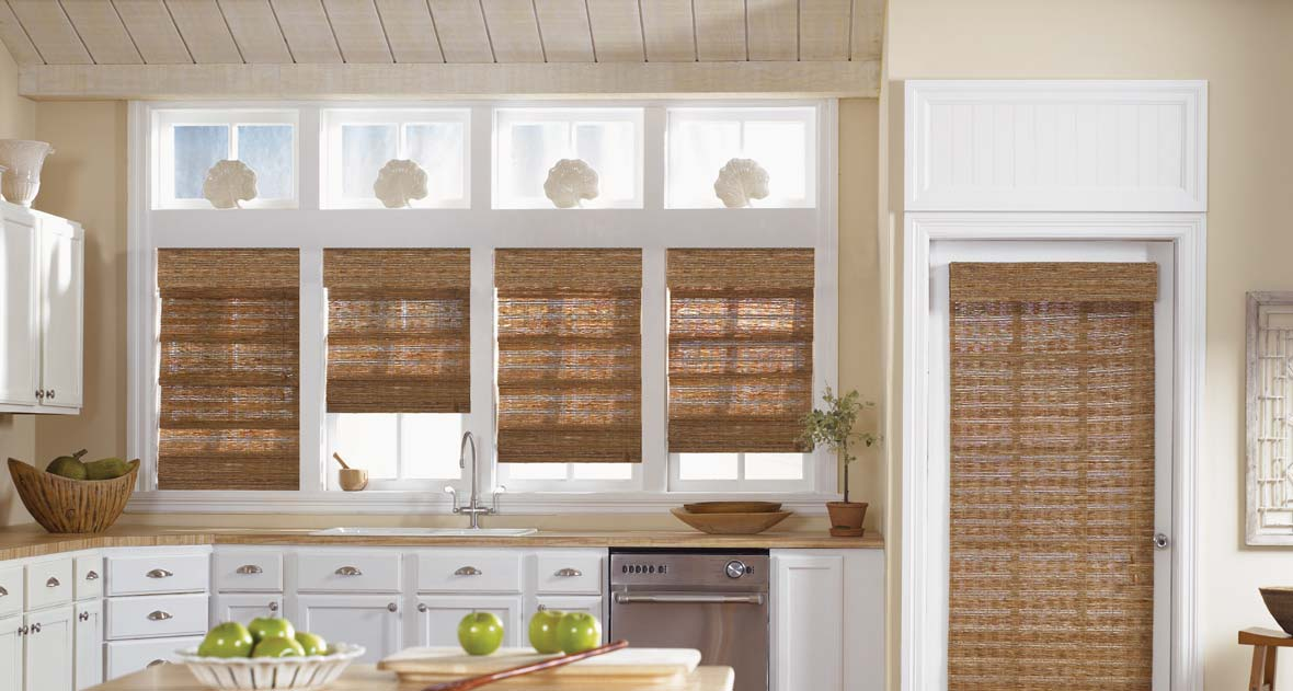 Natural Woven Shades Boise Blind and Drapery