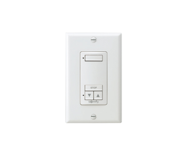 Somfy 1 channel wireless wall switch